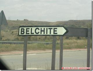 direccion  a Belchite Viejo
